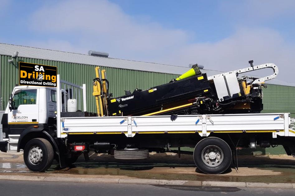 Drilling Machine on truck