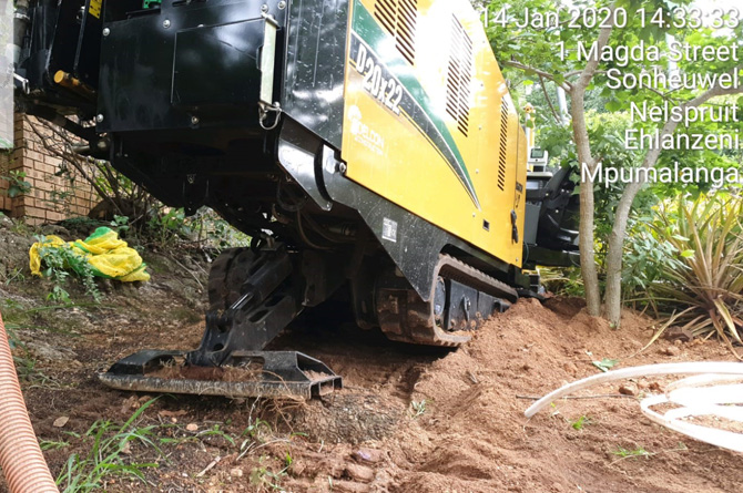 Under Tar road Drilling