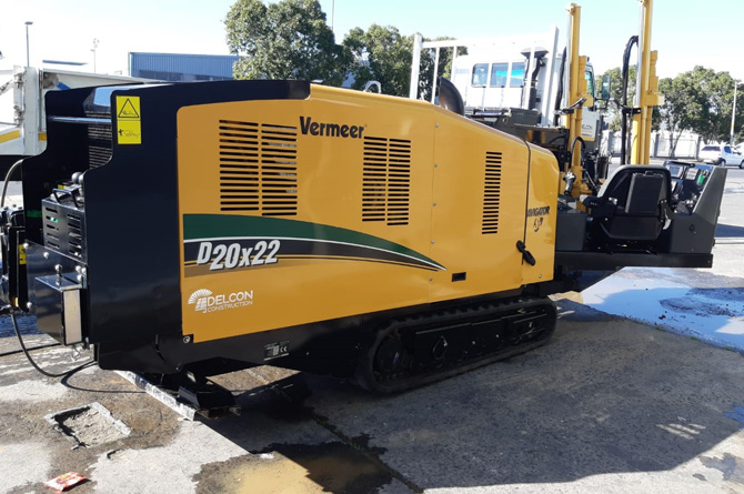 Vermeer D20 Directional drilling Machine
